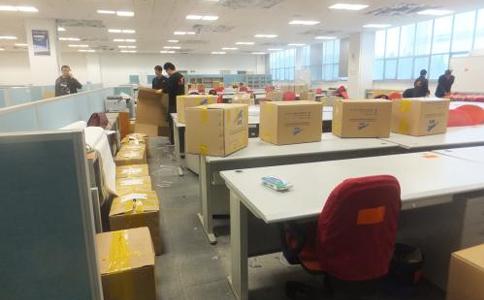 广州办公室搬迁必须选择有实力的广州搬家公司